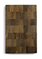 Woodeed Доска разделочная из дуба, торцевая, маленькая, 30 х 20 см