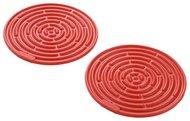 Le Creuset Набор силиконовых подставок под горячее, 10 см, 2 шт (93000210060200)