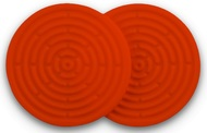 Le Creuset Набор силиконовых подставок под горячее, 10 см, 2 шт (93000210090200)
