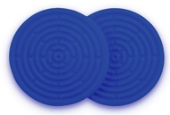 Le Creuset Набор силиконовых подставок под горячее, 10 см, 2 шт (93000210312200)