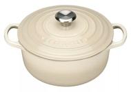 Le Creuset Кастрюля с крышкой (2.4 л), 20 см, кремовая (21177204814430)