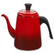Le Creuset Заварочный пуровер-чайник Drip (0.7 л), вишневый (40110020600000)