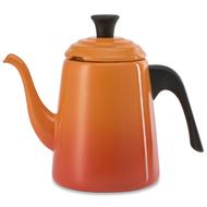 Le Creuset Заварочный пуровер-чайник Drip (0.7 л), оранжевый (40110020900000)