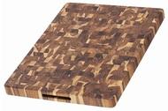 TeakHaus Доска разделочная торцевая Butcher Block, 50.8x38.1х3.8 см