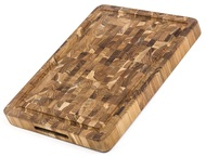 TeakHaus Доска разделочная торцевая Butcher Block, 40.6x30.5х3.8 см