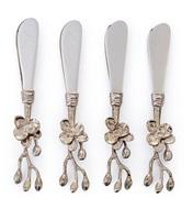 Michael Aram Набор ножей для масла Белая орхидея, 14.5 см, 4 шт