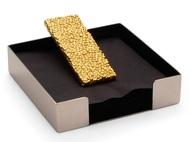 Michael Aram Подставка для салфеток Золотые жемчужины, 13х13х4 см