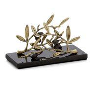 Michael Aram Подставка для салфеток Золотая оливковая ветвь, 19.7х7х9.5 см