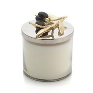 Michael Aram Свеча Золотая оливковая ветвь, 9.5х12 см