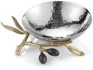 Michael Aram Чаша Золотая оливковая ветвь, 11 см, серебристая