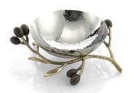 Michael Aram Чаша Золотая оливковая ветвь, 12.1 см, серебристая