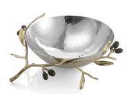 Michael Aram Чаша Золотая оливковая ветвь, 20.3 см, серебристая