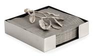 Michael Aram Подставка для салфеток Лавровый лист, 13.3х13.3х4.4 см