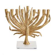 Michael Aram Подсвечник на 9 свечей Пальмовая ветвь, 33х35 см