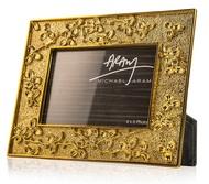Michael Aram Рамка для фото Паслен, 10х15 см, золотистая