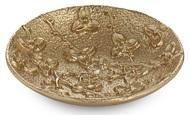Michael Aram Подставка для украшений Паслен, 12х2.5 см, золотистая