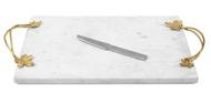 Michael Aram Доска для сыра с ножом Плющ и дуб, 44x25x5 см