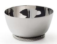 Michael Aram Чаша для орешков Твист, 10 см, серебристая