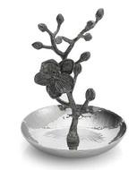 Michael Aram Подставка для колец Черная орхидея, 10х15 см, серебристая