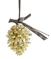 Michael Aram Декоративное украшение Сосновая шишка, 8.9х11.4 см, золотистое