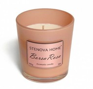 Stenova Home Ароматическая свеча Borsa Rosa, 8 см