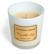 Stenova Home Ароматическая свеча Vanilla sky, 8 см