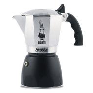 Bialetti Гейзерная кофеварка Brikka с клапаном для пенки 2020 (150 мл), на 4 чашки