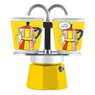 Bialetti Гейзерная кофеварка Mini Express Lichtenstein (90 мл), на 2 чашки