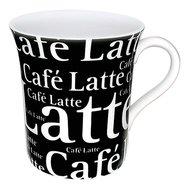 """Konitz Кружка """"Кофе латте черный"""" (410 мл)"""