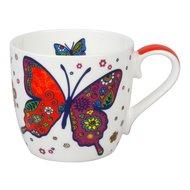 "Konitz Кружка ""Разноцветные животные - бабочки"" (425 мл)"