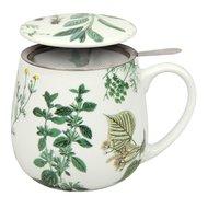 """Konitz Кружка заварочная """"Мой любимый чай с травами"""" (420 мл)"""