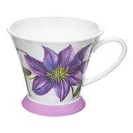 Rose of England Кружка Фиолетовый клематис (355 мл), 10.9 см