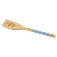 Guffman Лопатка с прорезями бамбуковая, 33 см, голубая