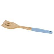 Guffman Лопатка с прорезями бамбуковая, 36 см, голубая