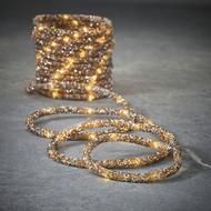 Luca lights Гирлянда Дюралайт, коричневый, 100 ламп, 8 функций, 5 м