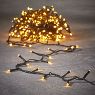 Luca lights Гирлянда String light, 48 ламп, теплый свет, 3.6 м, работает от батареек