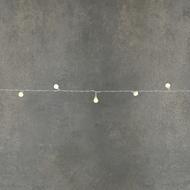 Luca lights Гирлянда Ягодки, 24 лампы, на светлом проводе, 2.4 м, на батарейках