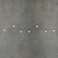 Luca lights Гирлянда Ягодки, 192 лампы, холодный свет, на темном проводе, 14.4 м, на батарейках