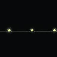 Luca lights Гирлянда на серебряном проводе, 10 ламп, 90 см