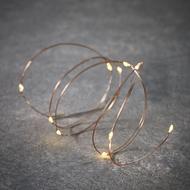 Luca lights Гирлянда на медном проводе, 10 ламп, 1 м