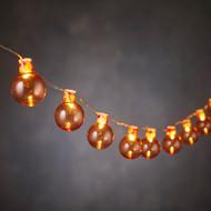 Luca lights Гирлянда Шарики оранжевые, 20 ламп, 1.9 м, на батарейках