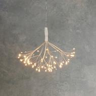 Luca lights Подвесной Одуванчик, мерцающий теплый белый свет, 80 ламп