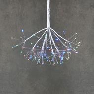 Luca lights Подвесной Одуванчик, мерцающий мультиколор, 80 ламп