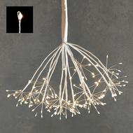 Luca lights Подвесной Одуванчик, мерцающий теплый белый свет, 160 ламп