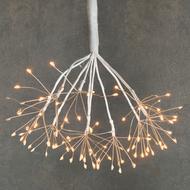 Luca lights Подвесной Одуванчик с режимом мигания, теплый свет, 160 ламп, 40 см