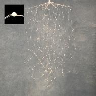 Luca lights Гирлянда Комета, мерцающий белый свет, 512 ламп, на серебряном проводе, 1.5 м