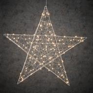 Luca lights Подвесная объемная Звезда 160 ламп, белый свет, 78 см