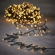Luca lights Гирлянда для елки 155 см, мягкий теплый свет, 370 ламп, 7.4 м