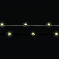 Luca lights Декор Гирлянда б/о теплый свет, 20 ламп, 190 см, медный провод
