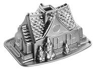 Nordic Ware Форма для выпечки 3D Пряничный домик 3D (2.2 л)